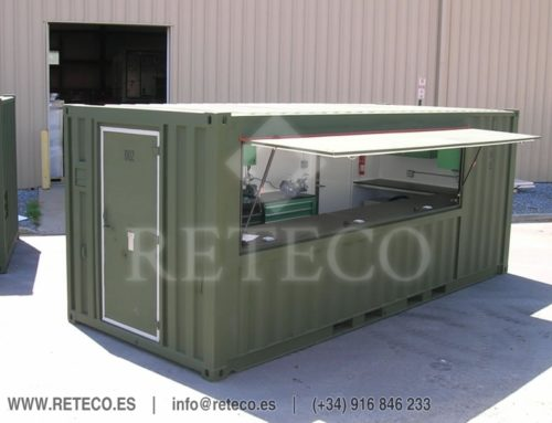 Industrial Use Container Sale – Workshop