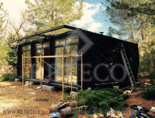 Habitable container Sale – Housing in Ibiza