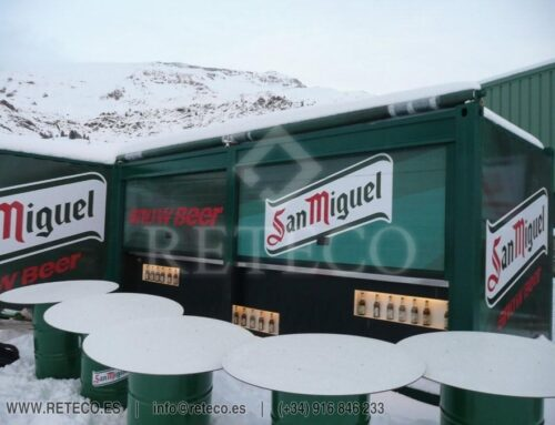 Sale Containers Commercial or Event Use, Coffee Bar San Miguel
